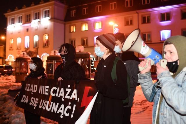 Strajk Kobiet w Jaśle. Tłumów nie było.