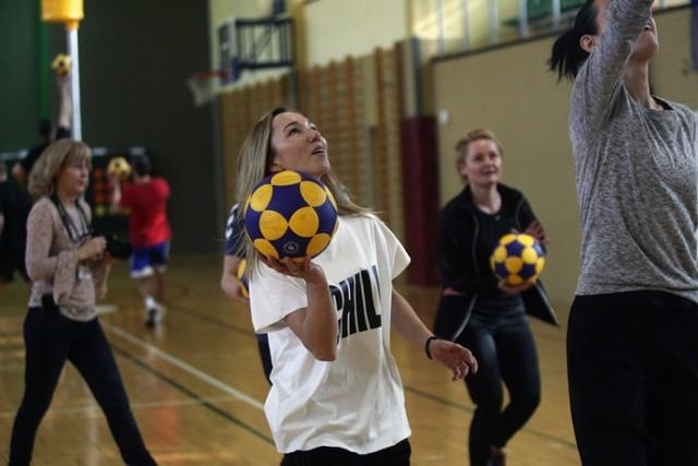 """""""Korfball - w to mi graj"""", trening dla nauczycieli w Legnicy"""