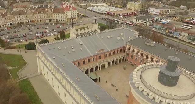 Zamek Lubelski z drona