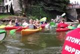 Zbąszyń: Spływ kajakowy Szlakiem Karola Wojtyły w Zbąszyniu - II etap -  8 czerwca 2013 [ZDJĘCIA]