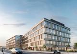 Format to nowy biurowiec przy ul. Droszyńskiego. Deweloper dorzuca propozycję budowy kładki dla pieszych na peron SKM Gdańk Oliwa