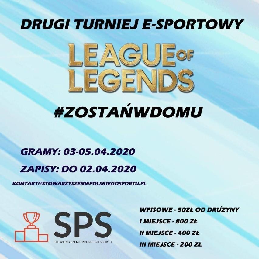 E-sportowy turniej League of Legends i zbiórka pieniędzy na ...