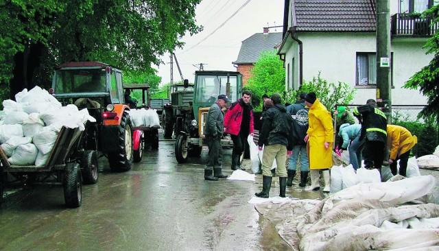 Akcja powodziowa kosztowała samorząd Borzęcina ponad 300 tysięcy złotych