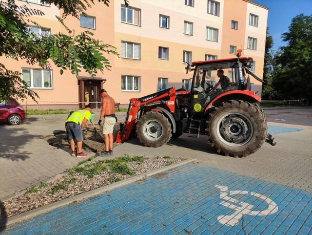 Koszt wymiany nawierzchni wyniesie 50 tysięcy złotych