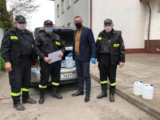 Środki do dezynfekcji dla placówek oświatowych z gminy Warta
