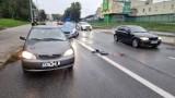 Wypadek na ulicy Grunwaldzkiej w Kielcach. Potrącona kobieta [ZDJĘCIA]