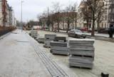 Remontowany odcinek alei Jana Pawła II w Szczecinie. Sprawdzamy jak idą prace