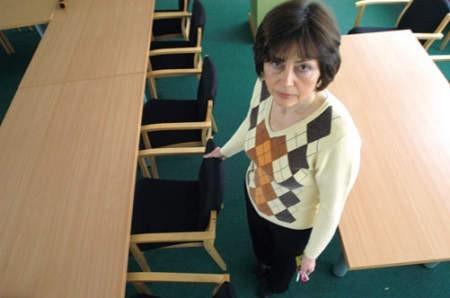 To wolne od maja miejsce radnego - mówi Ewa Jesionek, szefowa Biura Rady Powiatu. Fot. Łukasz Klimaniec