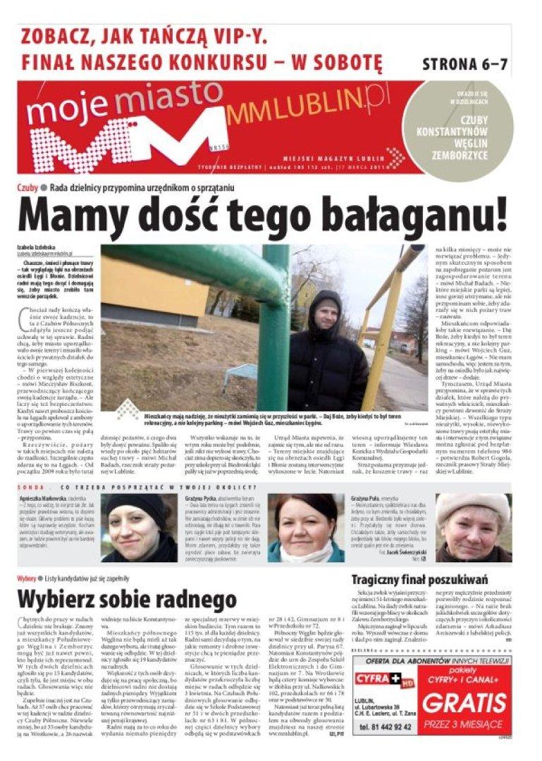 W Czwartek 17 Marca W Papierowym Wydaniu Mm Moje Miasto Lublin