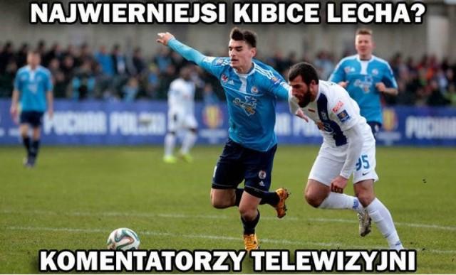 Memy po meczu Lech Poznań - Błękitni Stargard Szczeciński