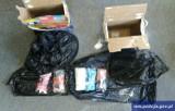 Policjanci przechwycili 5 kg amfetaminy. Kurier przewoził je w opakowaniach po proszku [ZDJĘCIA]