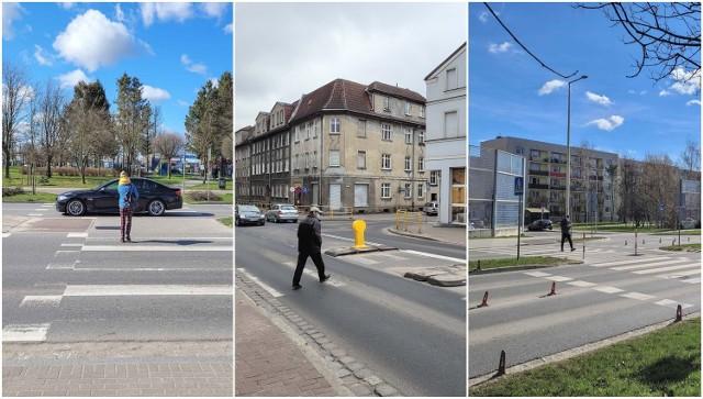 Niebezpieczna przejścia dla pieszych w Słupsku. Sprawdź na kolejnych slajdach!