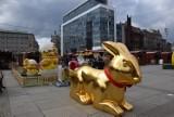 Jarmark Wielkanocny w Katowicach oficjalnie otwarty. Jest kilkadziesiąt stoisk, gigantyczne jaja i złoty zając