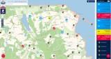 Krajowa Mapa Zagrożeń Bezpieczeństwa w powiecie puckim: ok. 200 wpisów w wakacje
