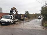 Demolka na Metalowej w Goleniowie. Rusza rozbudowa ulicy