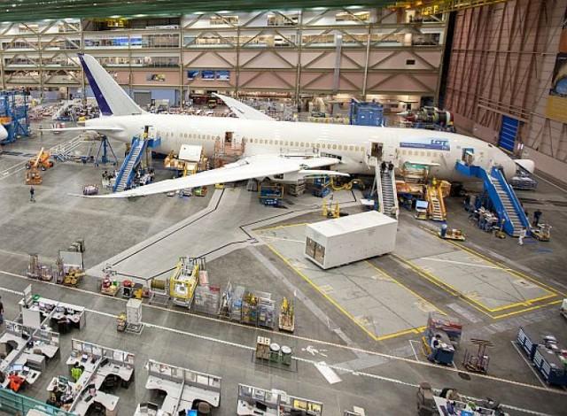 Pierwszy Boeing 787 Dreamliner dla LOT jest już prawie gotowy. ...