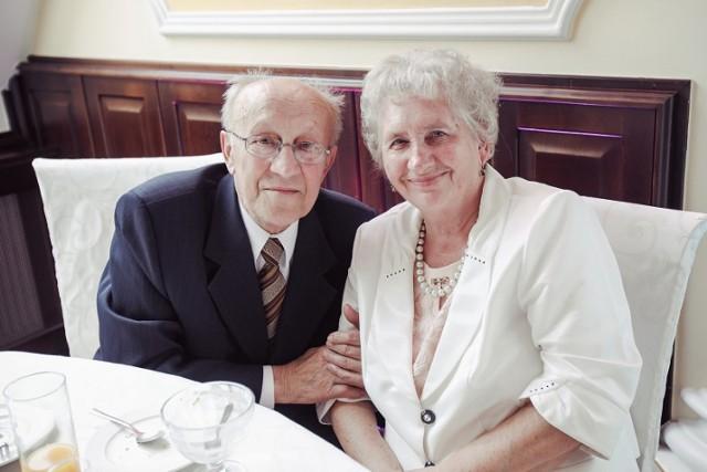 Na zdjęciu Elżbieta i Jan Woźnicowie