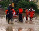Wielka powódź w Jaśle. 11 lat temu pod wodą znalazła się jedna trzecia miasta [ZDJĘCIA]