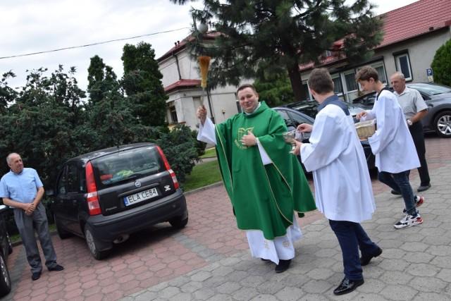 Święcenie pojazdów w Zduńskiej Woli. Uroczystości św. Krzysztofa