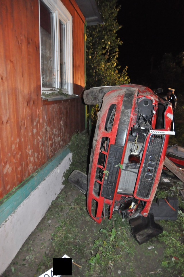 1,2 promila alkoholu w organizmie miał kierowca, który spowodował wypadek w Droblinie.