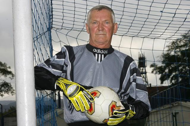 Marian Szeja, były bramkarz piłkarskiej reprezentacji Polski
