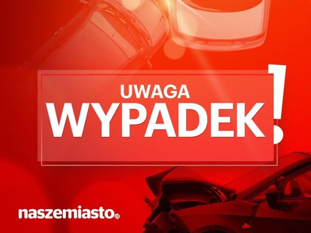 Zderzenie samochodów na drodze Kwilcz-Kurnatowice