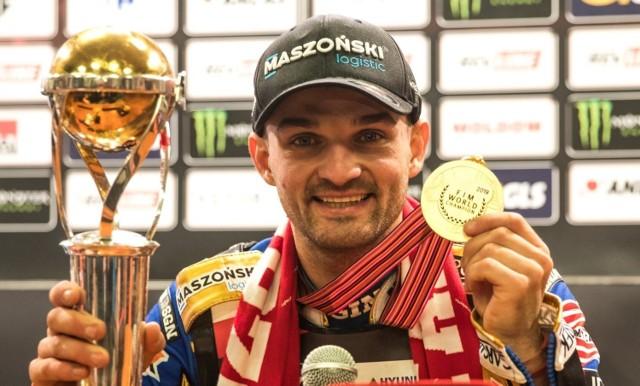 Bartosz Zmarzlik ze złotym medalem indywidualnych mistrzostw świata