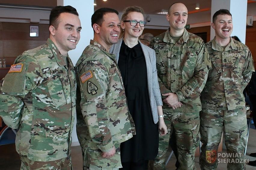 Żołnierze US Army odwiedzili Sieradz