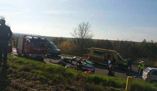 W wypadku zginęła policjantka, a jej kolega trafił z obrażeniami do szpitala