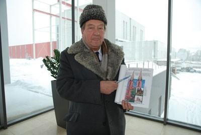 Ryszard Liszczyk chciałby doprowadzić do zrealizowania pierwotnego projektu świątyni