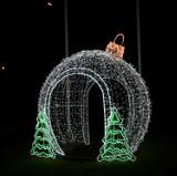 Świąteczne iluminacje w gm. Malechowo i gminie Postomino ZDJĘCIA