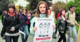 Ulicami Olkusza przeszedł wielki marsz przeciw dopalaczom