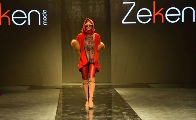 Zeken Moda – marka z Kazachstanu. Jej główny projektant, Kairolla Abishev, łączy stylistykę charakterystyczną dla regionu kaukaskiego z europejską elegancją.