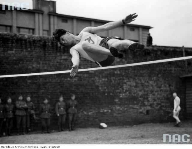 Lublin w czasie okupacji. Święto sportu, maj 1941.
