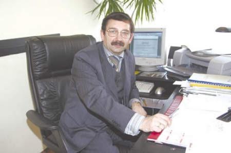 Roman Goczoł, naczelnik wydziału.