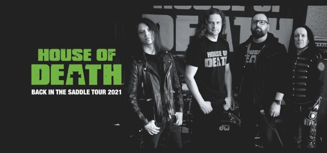 11 września zespół House Of Death zagra w goleniowskiej Rampie