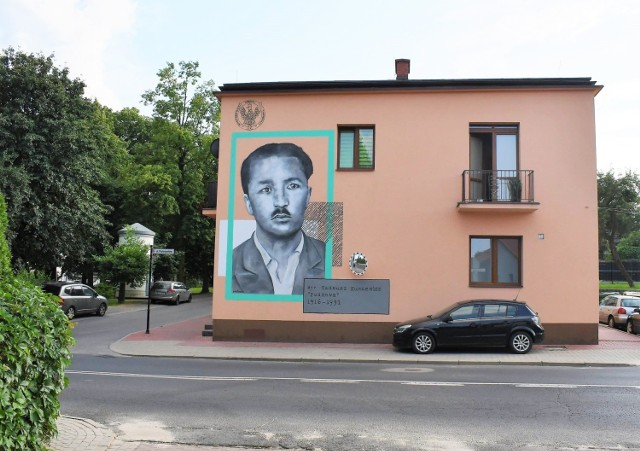 Nowy mural w Szczebrzeszynie