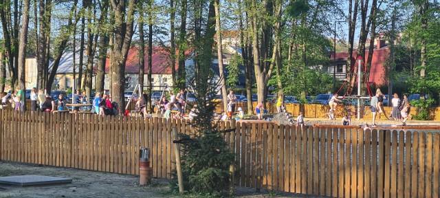 Park Strzelecki przyciąga tłumy sądeczan