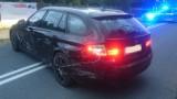 Policyjny pościg w Katowicach, za skradzionym BMW w Mikołowie