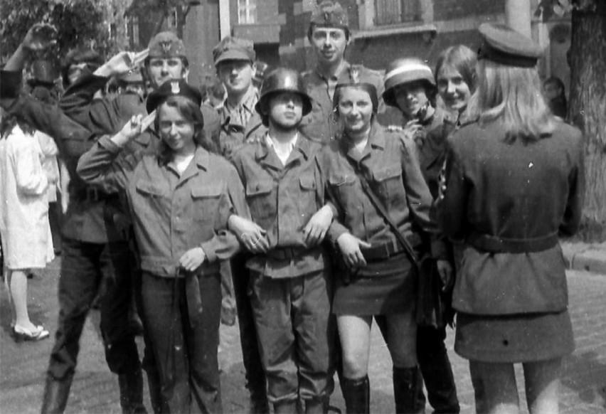 Rok 1980. Uczniowie LO.