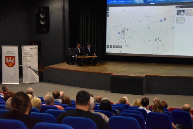Nową aplikację zaprezentowano w przeddzień uruchomienia, w sali ChDK