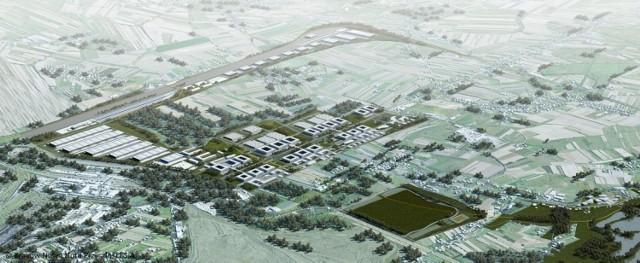 Wizualizacje projektu Nowa Huta Przyszłości