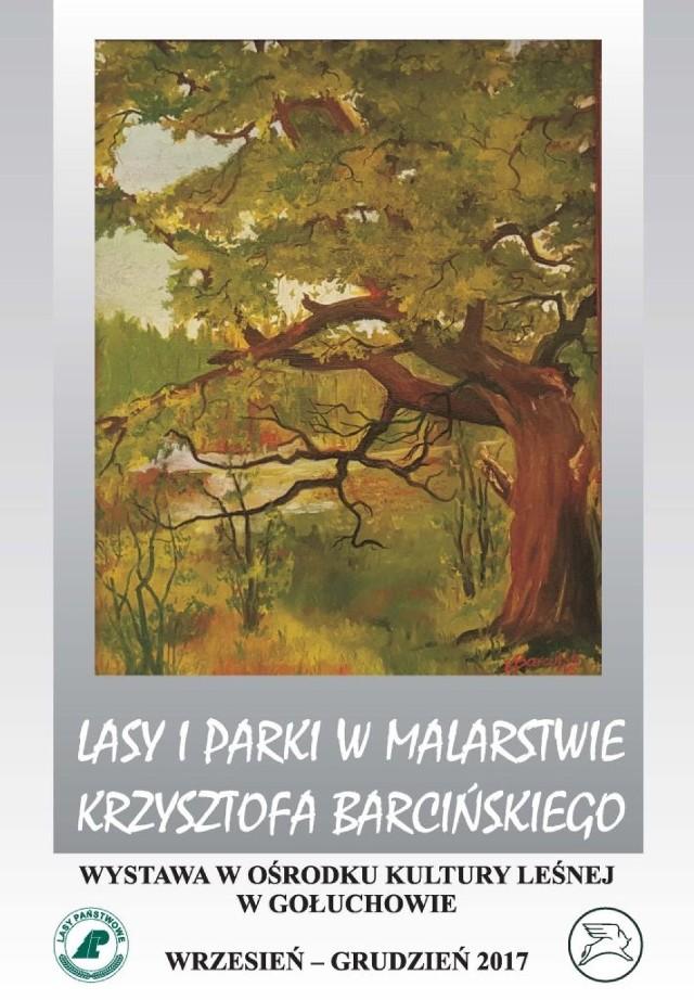 Leśne pejzaże w OKL w Gołuchowie