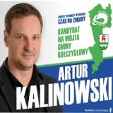 Artur Kalinowski wygrał wybory na wójta Kołczygłów