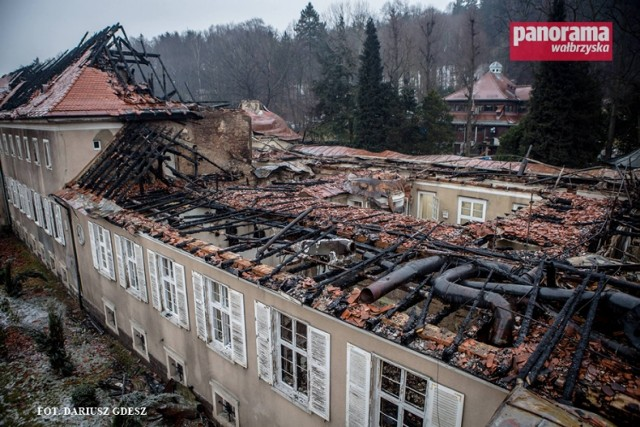 Mimo utraty w pożarze Zakładu Przyrodoleczniczego, Uzdrowisko Szczawno-Jedlina S.A. może kontynuować działalność bez szkody dla kuracjuszy