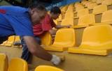 Podbeskidzie już z licencją w pośpiechu naprawia stadion. Prace mają trwać do 17 lipca [ZDJĘCIA]