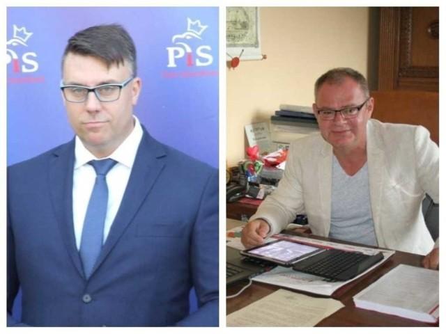 Kandydaci na burmistrza Chełmna: Michał Majewski (z lewej) i Mariusz Kędzierski