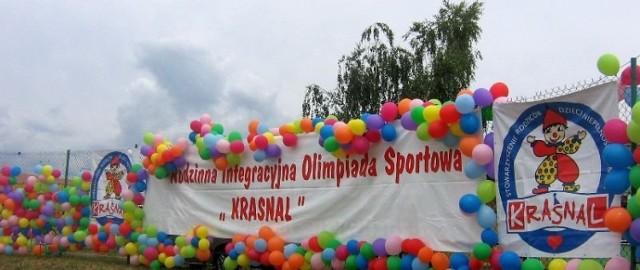 Dekoracje olimpijskie. Fot. Ewa Krzysiak