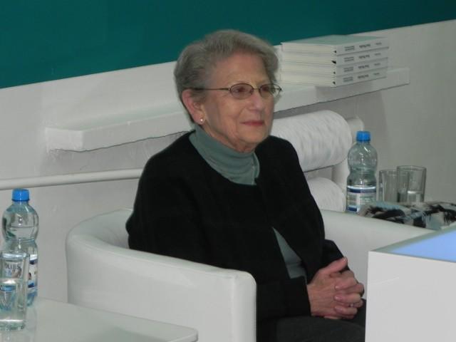 Ruth Webber, córka Szmula Muszkiesa.