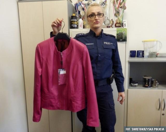 Policjanci odzyskali skradzioną kurtkę